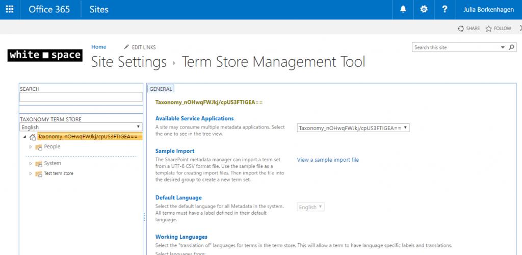 term store
