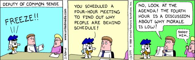 Dilbert common sense