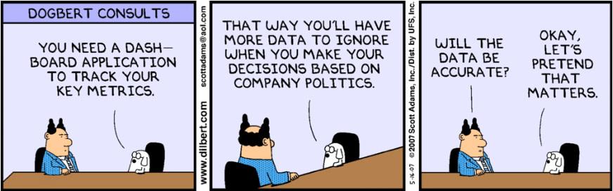 Dilbert politics