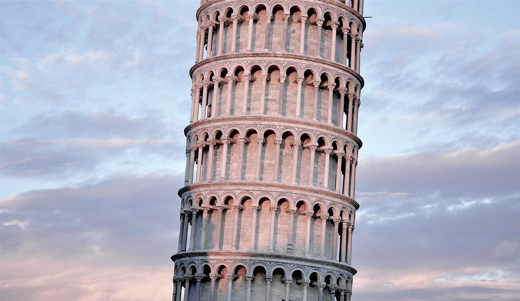 pisa tower poor foundations