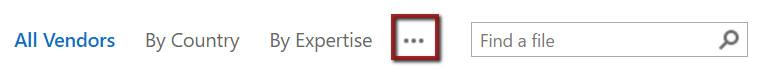 overflow menu in SharePoint