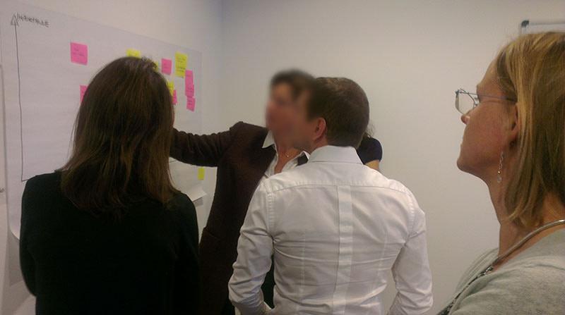 workshop for pharma client
